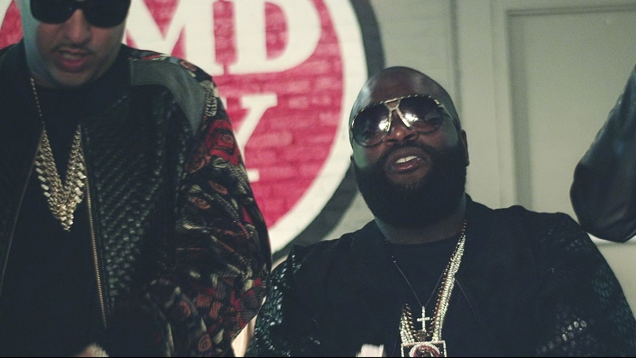 Rick Ross feat French Montana- What A Shame (Music Video)